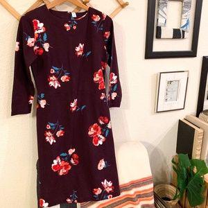 Gap Plum Floral Dress